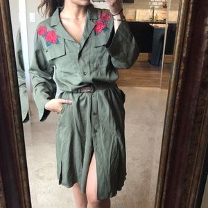Volcom Rose Embroidered Dress/Duster